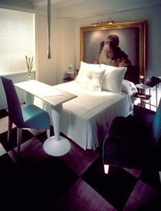 Miss Paramount Chair at the Paramount Hotel New York City designed by Philippe Starck :: 1990