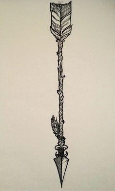 a fantastic Arrow Drawing