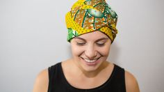 Scarves for cancer/chemo patients, surgical caps, Artisan head wraps for women, african fabric, fair trade, ethical fashion
