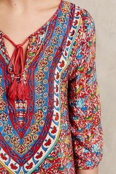 Manori Silk Cover-Up - anthropologie.com - by Tolani