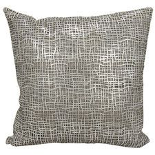 Couture Natural Hide Throw Pillow