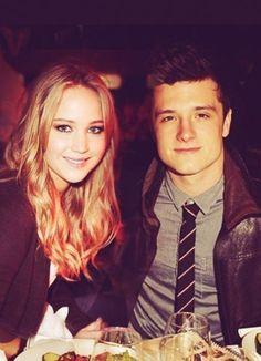 Jennifer Lawrence and Josh Hutcherson ♥