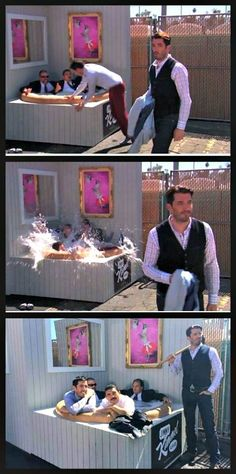 The Property Brothers on Jimmy Kimmel
