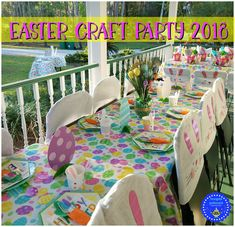 HAPPY EASTER EVERYONE! hope you are all spending this joyous day with loved ones :) last week i had a wonderful celebration with s. Happy Easter Everyone, Easter 2018, Craft Party, Easter Crafts, Celebration, Kids Rugs, Diy Crafts, Spring, Kid Friendly Rugs