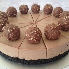 Nutella & forerro rocher cheesecake