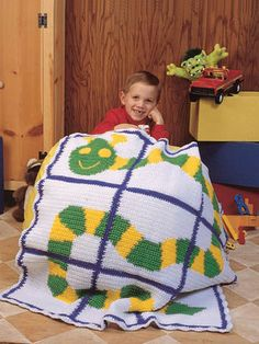 caterpillar blanket