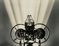 Margaret Bourke-White, 'NBC Radio—Microphone,' 1935, gelatin silver print on paper, 11 by 14 inches
