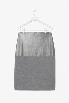 Cos, Foil print skirt