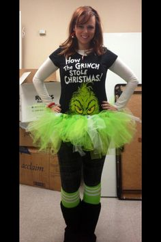 Grinch center piece lorri heiling confessions of a stamping addict you should totally do this denyse boyd more fun christmas outfitsgrinch solutioingenieria Image collections