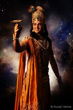 'Krishna' captured by Kunal for the serial Mahabharata for Star