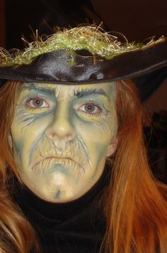 Witches Face Makeup Ideas