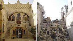 a cidade de Alepo, a maior da Síria (Foto: Reprodução/Hannah Karim)