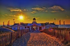 Sunset at Beach Club O.