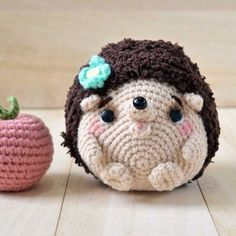 Get free hedgehog amigurumi pattern for this cute little baby.