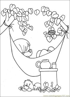 Coloringpages101.com is just what it sounds like - lots of free printable coloring pages! I may have pinned this before, but I saw that it has Precious Moments coloring pages.  :)