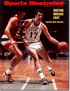 John Havlicek, Basketball, Boston Celtics