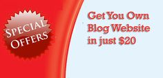 Get Your Own Blog in just Rs1500 or $20 : eAskme