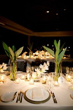 Tropical wedding- Anguilla #candles [bellaromacandle.com]