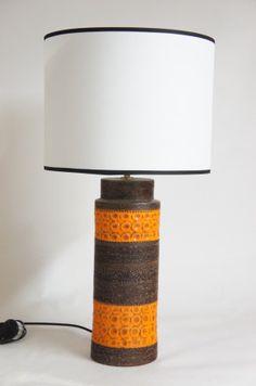 Angelucci 20th Century • Italian Ceramic Lamp