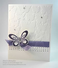 Watercolor Wings Tunnel Card