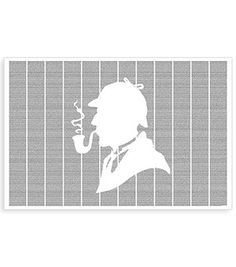 Postertext Sherlock Holmes