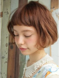 Nanuk shibuya Mariana x Soft French Bob x . Wedge Hairstyles, Short Hairstyles For Women, Bob Hairstyles, Medium Short Hair, Short Hair Cuts, Cut Her Hair, Hair Dos, Hair Trends, Hair Inspiration