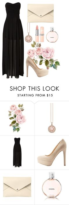 """""""Say my name"""" by mina-xoxo ❤ liked on Polyvore featuring Thomas Sabo, TFNC, Qupid, Louis Vuitton and Chanel"""