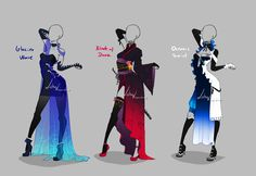 Outfit design - 270 - 272 - closed by LotusLumino on DeviantArt