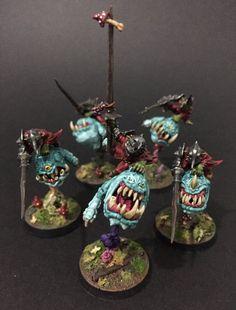 Warhammer Figures, Warhammer Paint, Warhammer Aos, Warhammer Fantasy, Paint Schemes, Colour Schemes, Orks 40k, Dnd Monsters, Game Workshop