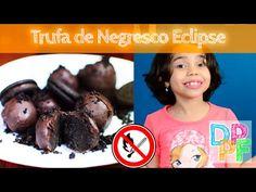 Como fazer trufa de Oreo (Negresco Eclipse) - Oreo truffle 3 ingredientes - Ingredientes Foram 8 bolachas, mas para não sobrar, talvez dê 10. 1 barra de chocolate de 140g 1 Colher de manteiga