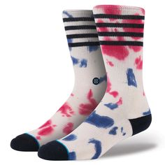 Why wait for the Fourth of July to celebrate your freedom? After all, Stance's Dressel embraces it everyday. The sock's premium combed cotton creates an especially plush ride while a reinforced heel and toe offer additional cushioning and durability. The Dressel's elastic arch and self-adjusting cuff provide support and ensure the sock moves with your feet. $14