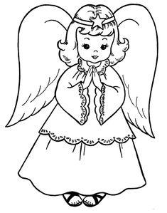 dessins anges a imprimer - Recherche Google
