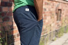 RCM CLOTHING SS15 / Chinos Gardener /  55% hemp 45% organic cotton twill / Sustainable Hemp Apparel http://www.rcm-clothing.com/