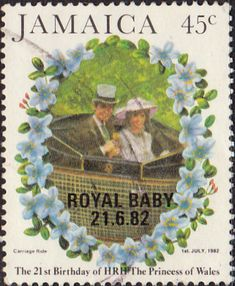 Jamaica 1982 21st Birthday of Diana Princess of Wales SG 553 Fine Used Scott 530 Other jamaican Stamps HERE