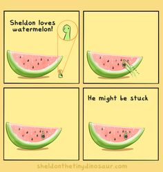 """""""Can I get a smiling watermelon floating right to left across the screen """" Storenvy 