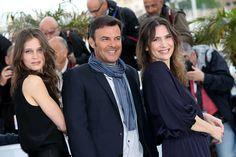 Emotions et polémiques au Festival de Cannes :  Marine Vacth, Francois Ozon et Geraldine Pailhas en 2013