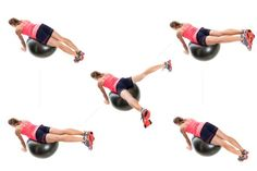 Exercise Ball Workout Routine for Hamstrings and Back: Exercise Ball Hamstring Strengthener
