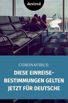 Zahlreiche Länder haben ihre Einreisebestimmungen wegen des Coronavirus geändert. Nun sind auch deutsche Reisende betroffen.  #corona #einreise #reisen #gesundheit Wanderlust, Corona, Travel Advice, German, Health, Viajes
