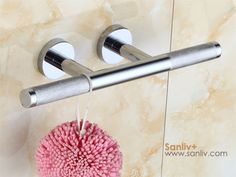 Chrome Shower Foot Rest for Hotel Bathrooms
