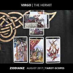 Zodianz Virgo August 2017 Tarot-Scopes