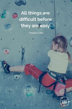All things are difficult before they are easy. - Thomas Fuller These growth mindset quotes will inspire both you and your kids to work hard, not give up, and to view challenges and failures as opportunities. #growthmindset #growthmindsetquotes Cool Stuff, Parenting Quotes, Kids And Parenting, Growth Mindset Quotes, Fixed Mindset, Love Challenge, Kids Sports, Quotes For Kids, Physical Activities