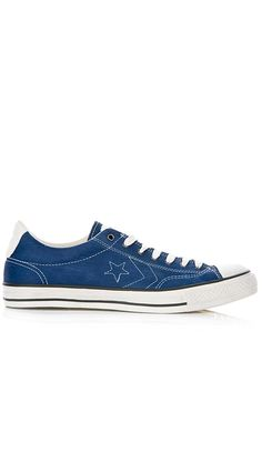 2b84c4aaa5d8 Converse John Varvatos Star Player OX Leather Men s Shoes Navy 142970C  (SIZE  8)