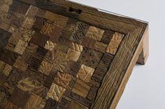 Memory Drewniana Ława Stolik Kawowy Drewno Palisander lakier półmat 140x70cm - 2