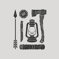 Outdoor Travel gear Adventure gear for moonshine_dreams_bc Adventure Gear, Nature Adventure, Adventure Travel, Adventure Tattoo, Trendy Tattoos, New Tattoos, Natur Tattoos, Design Art, Graphic Design