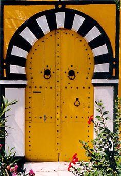 Portes Tunisiennes - Sidi Bou Saïd, Tunisie