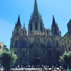 The #barcelona #cathedral in #catalunya #spain