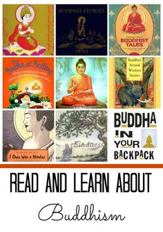 Books for kids about Buddha and Buddhism