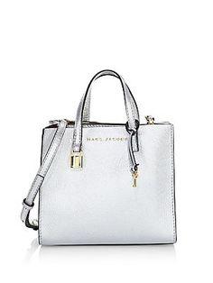 Marc Jacobs - Mini Grind Leather Satchel Bag Hobo Bag, Satchel Bag, Best  Designer f5dd2cd5b1