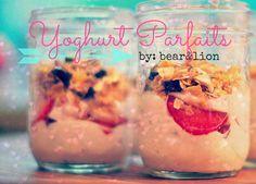 yogurt parfaits!