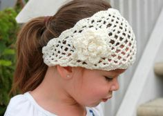 Easy Crochet Head Wrap Patterns | Crochet Head Wraps - think I can figure out this pattern if I stare at ... ༺✿ƬⱤღ https://www.pinterest.com/teretegui/✿༻